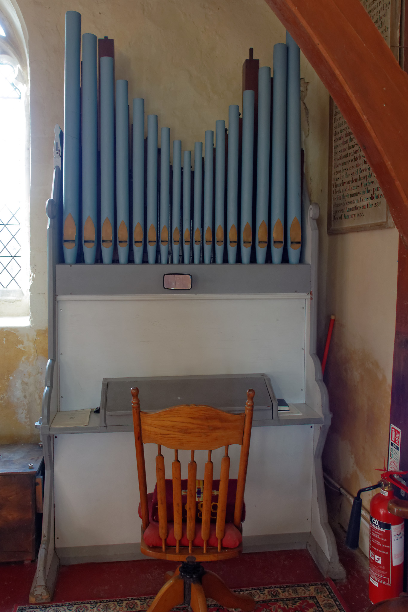 Little Tey - St James the Less - Organ