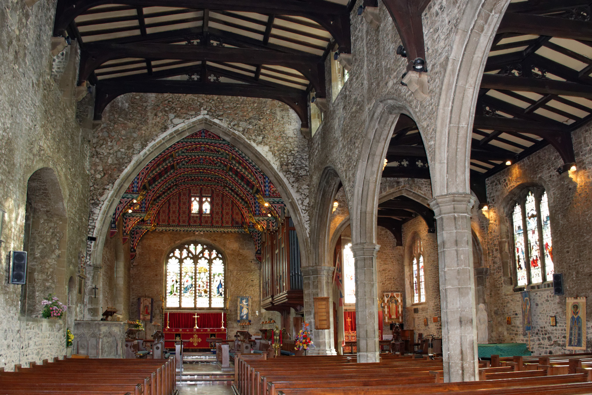 Prittlewell - St Mary - Interior